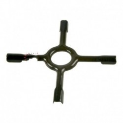 Grelha auxiliar fogo bancada padrão vitrificado diâmetro 130 mm
