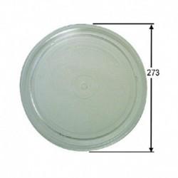 Diâmetro de prato de microondas Whirlpool 273mm