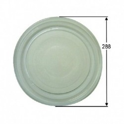 Diâmetro do prato giratório microondas 280mm A01B01
