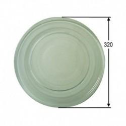 Diâmetro do prato giratório microondas 318 mm