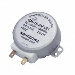 Giraplatos eixo do motor padrão 10 mm 5/6 rpm 1 chanfro de microondas