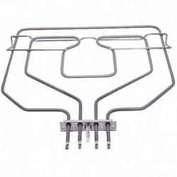 Resistência grill forno Balay 3HB506B01 3HT518X03 de dobramento 472510 470845 3HF518X02