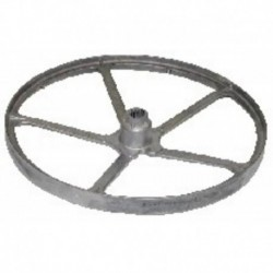 Polia tambor máquina de lavar roupa Indesit do eixo estriado 55043