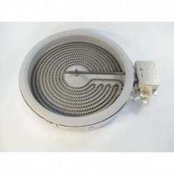 Resistência placa fogão Teka 140 mm diâmetro 1054111004 289561 230V 1200W