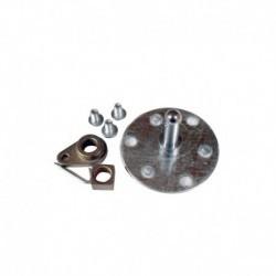 Eixo do cilindro secador Indesit ISL60V C00113038