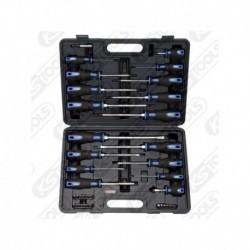 Jogo de ferramentas 159,0100 Kstools chaves de fenda