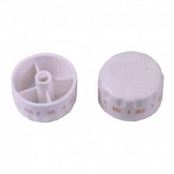 Diâmetro 6 mm HE490 de controle remoto termostato forno Teka branco diâmetro do eixo