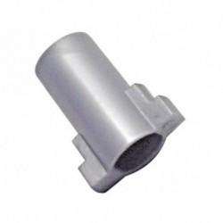 Acoplamento motor de exaustão caldeira cinza padrão