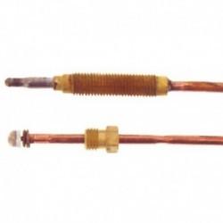 Cabeça do calefator roscada termopar padrão 500 MM T1A12500