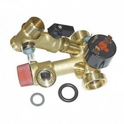 Chave de torneira cheio de retenção da caldeira Ferroli F24E 39808630