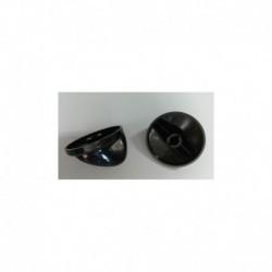 Controle de placa TEKA eixo 5,5 mm. Preto