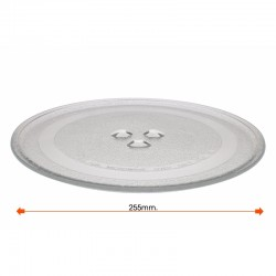 Microondas Turntable Balay Daewoo 255 mm de diâmetro 3WG2421 4WG214A 3WG19X 3WH2126E