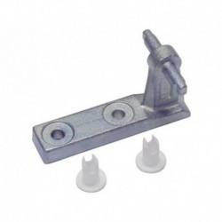 Dobradiça intermediária frigorífico Balay Bosch 3FG66204 3FS3541SR02 3FS3671SR03 416436