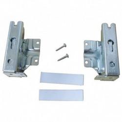 Kit dobradiça porta da geladeira Bosch Siemens KIR2640 WTE84160 481147