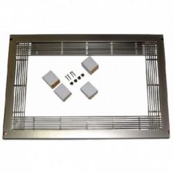 Forno decorativa cor padrão aço inoxidável 600x400mm