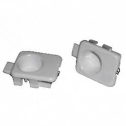 Interruptor de capô capuz branco teca 2 unidades C601 C901