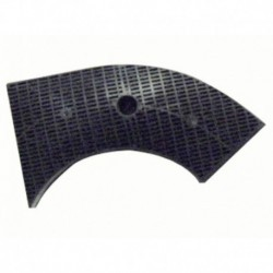 Padrão 240x92mm coifa filtro de carbono
