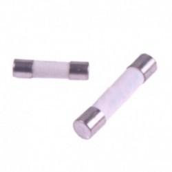 Fusível microondas padrão 5.0 x 20 mm de diâmetro. 6,3 ampères