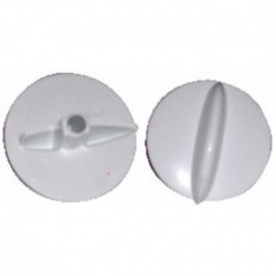 Botão de microondas Moulinex branco do eixo 6 mm